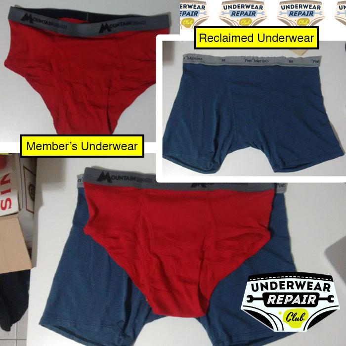 reclaimed underwear comparison sizing